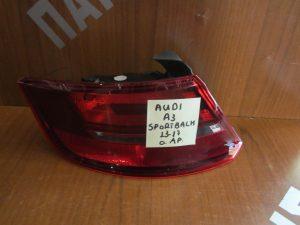 Audi A3 Sport Back 2013-2017 φανάρι πίσω αριστερό
