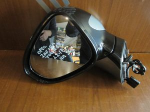 Opel Zafira Tourer 2012-2017 καθρέπτης αριστερός ηλεκτρικός μαύρος 5 καλώδια