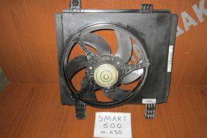 Smart ForTwo w450 1998-2002 600cc βεντιλατέρ ψυγείου νερού