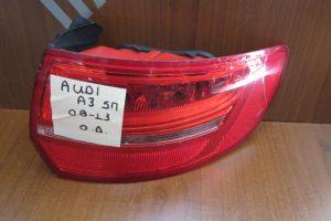 Audi A3 2008-2013 φανάρι πίσω δεξί 5θυρο
