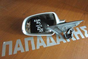 Audi A5 2010-2016 3θυρο ηλεκτρικά ανακλινόμενος καθρέπτης αριστερός ασημί 10 καλώδια