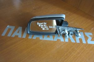Bmw S5 E60/61 2003-2010 ηλεκτρικά ανακλινόμενος καθρέπτης αριστερός ασημί φως ασφαλείας