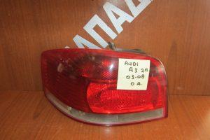 Audi A3 3θυρο 2003-2008 φανάρι πίσω αριστερό