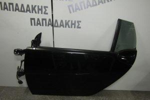 Smart ForTwo w451 Cabrio 2007-2014 πόρτα αριστερή μαύρη