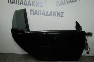 Smart ForTwo w451 Cabrio 2007-2014 πόρτα δεξιά μαύρη