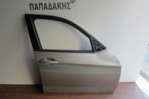Bmw X1 E84 2009-2015 πόρτα εμπρός δεξιά ασημί σκούρο