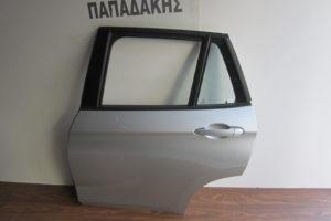 Bmw X1 E84 2009-2015 πόρτα πίσω αριστερή ασημί