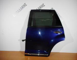 Chrysler PT Cruiser 2001-2010 πόρτα πίσω αριστερή μπλε