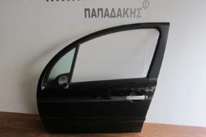 Citroen C3 2002-2009 πόρτα εμπρός αριστερή μαύρη βαφόμενη φάσα