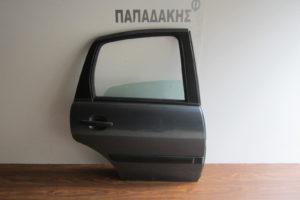 Citroen C3 2002-2009 πόρτα πίσω δεξιά γκρι