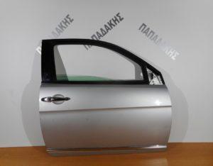 Lancia Ypsilon 2003-2011 πόρτα δεξιά δίπορτη ασημί (κάτω χρώμιο)