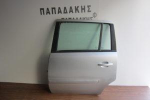 Opel Zafira B 2005-2012 πόρτα πίσω αριστερή ασημί