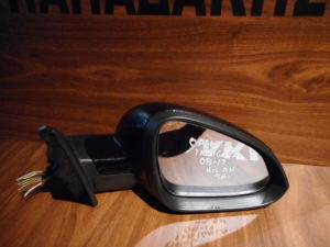 Opel Insignia 2008-2017 δεξιός ηλεκτρικά ανακλινόμενος καθρέπτης μαύρος 9 ακίδες
