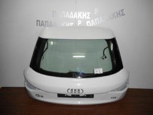 Audi Q3 2011-2018 πόρτα πίσω 5η άσπρη