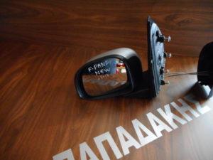 Fiat Panda New 2012-2017 αριστερός καθρέπτης μηχανικός ασημί