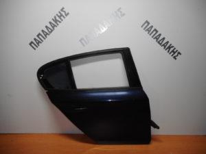 Bmw S1 E87 2004-2011 πόρτα πίσω δεξιά μπλε σκούρο