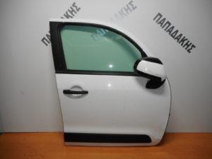Citroen C3 Picasso 2009-2017 πόρτα εμπρός δεξιά άσπρη