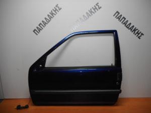 Citroen Saxo 2000-2003 πόρτα αριστερή δύθυρη μπλε σκούρο