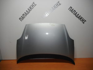 Fiat Grande Punto 2005-2012 εμπρός καπό ασημί