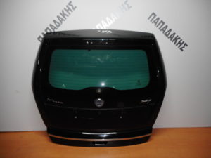 Lancia Musa 2008-2012 πόρτα οπίσθια μαύρη