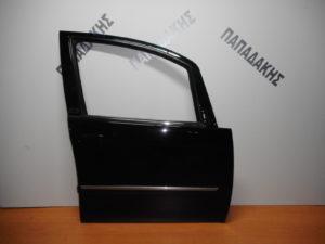 Lancia Musa/Fiat Idea 2003-2012 πόρτα εμπρός δεξιά μαύρη