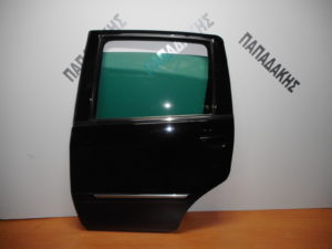 Lancia Musa/Fiat Idea 2003-2012 πόρτα πίσω αριστερή μαύρη