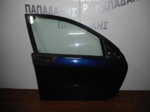 Smart ForFour 2004-2014 εμπρός δεξιά πόρτα μπλε