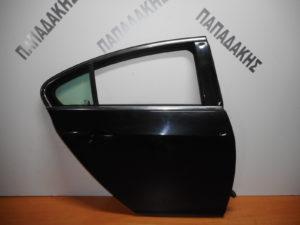 Opel Insignia 2008-2017 πόρτα πίσω δεξιά μαύρη