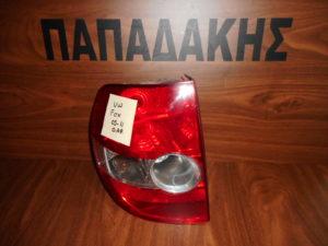 VW Fox 2005-2011 πίσω αριστερό φανάρι