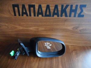 Volvo V40 2012-2018 ηλεκτρικός καθρέπτης δεξιός μαύρος 6 καλώδια