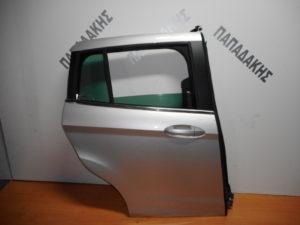 ford b max 2012 2018 porta dexia piso asimi 1 300x225 Ford B Max 2012 2018 πόρτα πίσω δεξιά ασημί