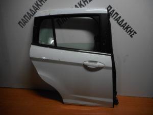 Ford B-Max 2012-2018 πόρτα πίσω δεξιά άσπρη