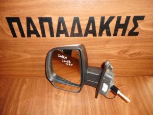 Fiat Doblo/Opel Combo 2010-2018 μηχανικός καθρέπτης αριστερός άσπρος
