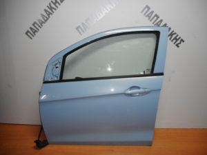 Opel Karl 2015-2019 πόρτα εμπρός αριστερή γαλάζια