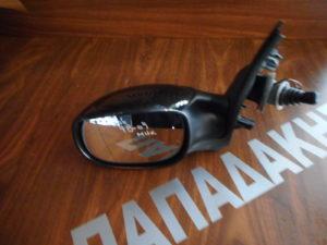 Peugeot 206 1998-2009 μηχανικός καθρέπτης αριστερός μαύρος