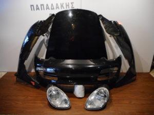 Porsche Boxter 2004-2012 μούρη κομπλέ μαύρη