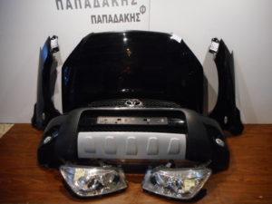Toyota Rav 4 2006-2009 μούρη κομπλέ μαύρη