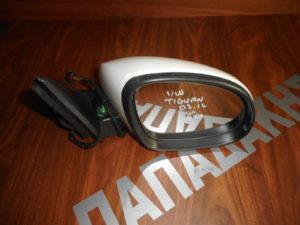 VW Tiguan 2007-2016 ηλεκτρικός καθρέπτης δεξιός άσπρος 6 καλώδια
