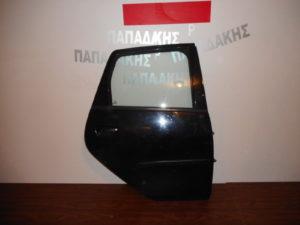 Mitsubishi Colt 2004-2012 πόρτα πίσω δεξιά μαύρη