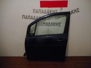 Opel Agila/Suzuki Splash 2008-2014 πόρτα εμπρός αριστερή μπλε σκούρο