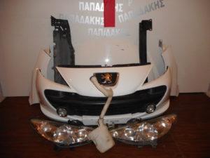 Peugeot 207 2006-2012 μούρη άσπρη
