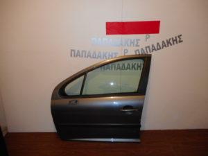 Peugeot 207 2006-2012 πόρτα εμπρός αριστερή μολυβί